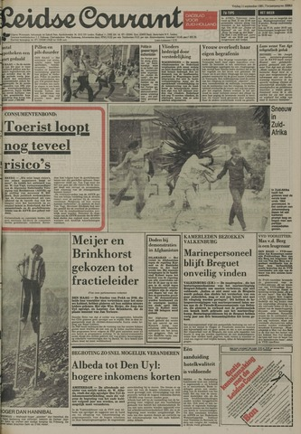 Leidse Courant 1981-09-11