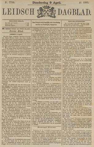 Leidsch Dagblad 1885-04-09