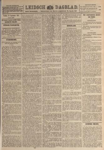 Leidsch Dagblad 1921-09-23