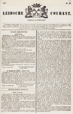 Leydse Courant 1877-02-16