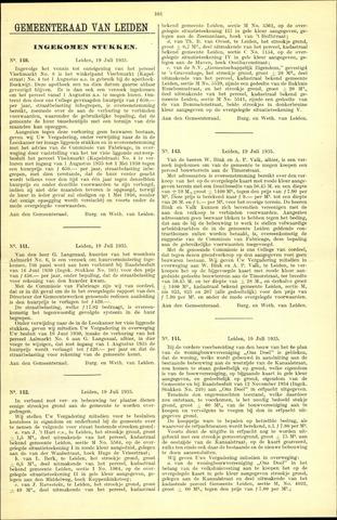 Handelingen van de Raad 1935-09-19