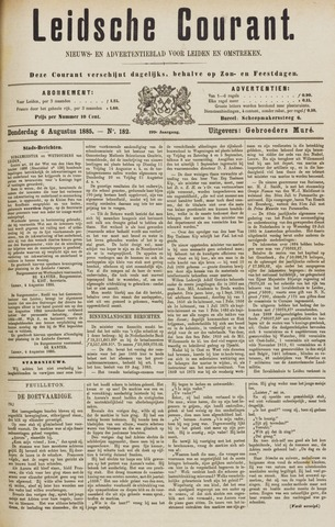 Leydse Courant 1885-08-06