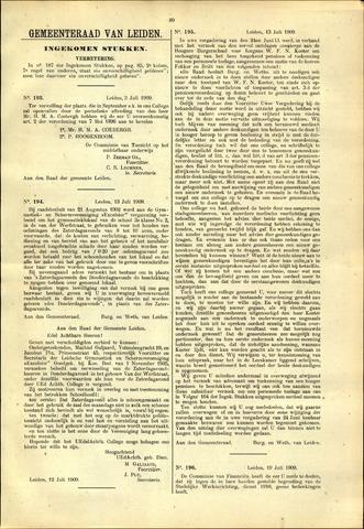 Handelingen van de Raad 1909-07-03