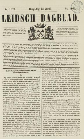 Leidsch Dagblad 1863-06-23