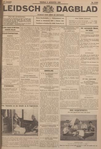 Leidsch Dagblad 1930-08-08