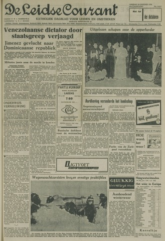 Leidse Courant 1958-01-24