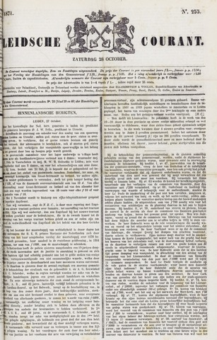 Leydse Courant 1871-10-28