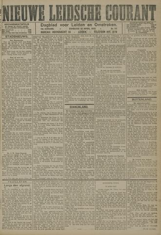 Nieuwe Leidsche Courant 1921-04-12