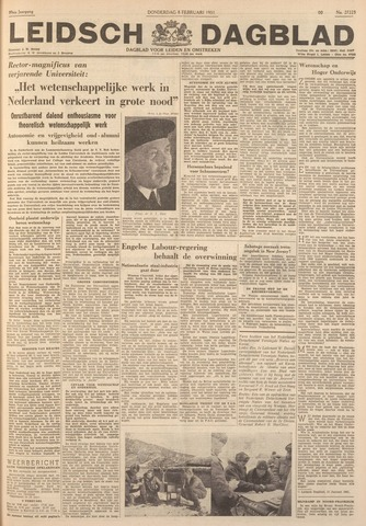 Leidsch Dagblad 1951-02-08