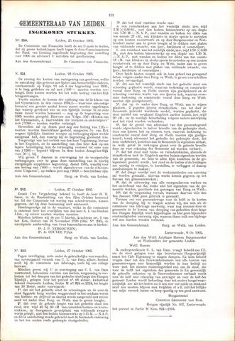 Handelingen van de Raad 1905-10-25