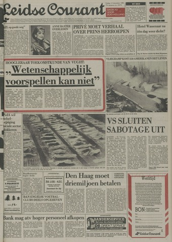 Leidse Courant 1985-12-13