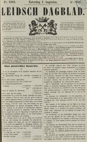 Leidsch Dagblad 1866-08-04