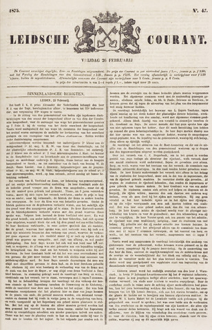 Leydse Courant 1875-02-26