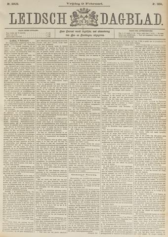 Leidsch Dagblad 1894-02-09