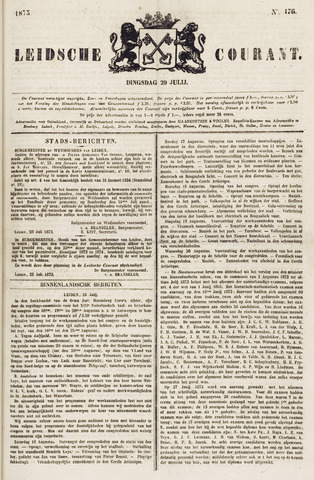 Leydse Courant 1873-07-29