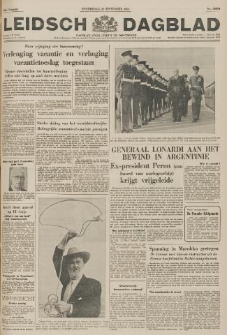 Leidsch Dagblad 1955-09-22