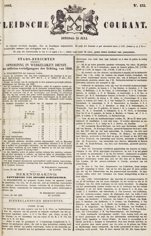 Leydse Courant 1883-07-24