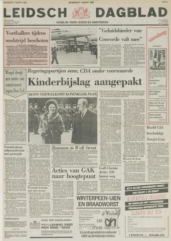 Leidsch Dagblad 1982-03-01