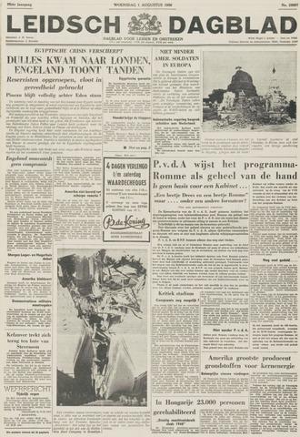Leidsch Dagblad 1956-08-01