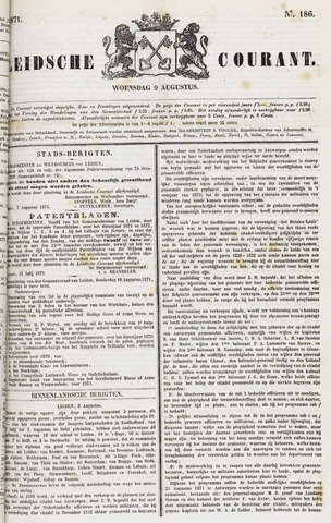 Leydse Courant 1871-08-09