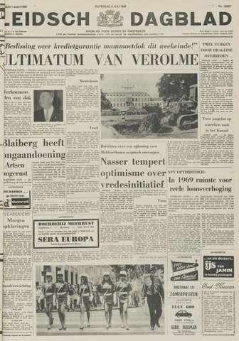 Leidsch Dagblad 1968-07-06