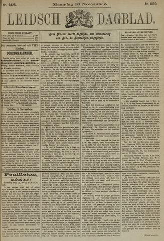 Leidsch Dagblad 1890-11-10