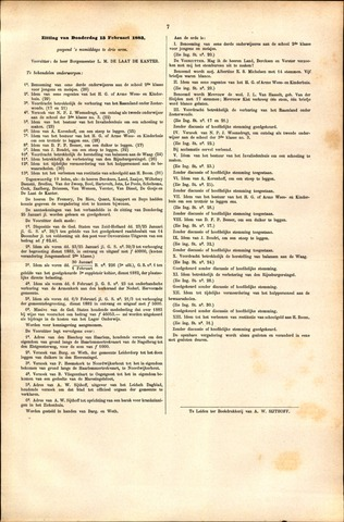 Handelingen van de Raad 1883-02-15
