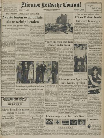 Nieuwe Leidsche Courant 1957-07-13