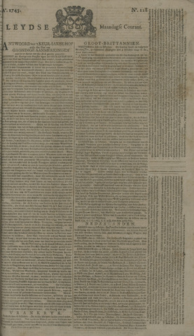 Leydse Courant 1745-10-25