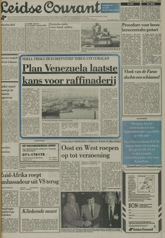 Leidse Courant 1985-07-31