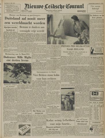 Nieuwe Leidsche Courant 1957-05-13