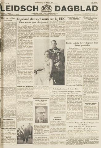 Leidsch Dagblad 1954-04-15