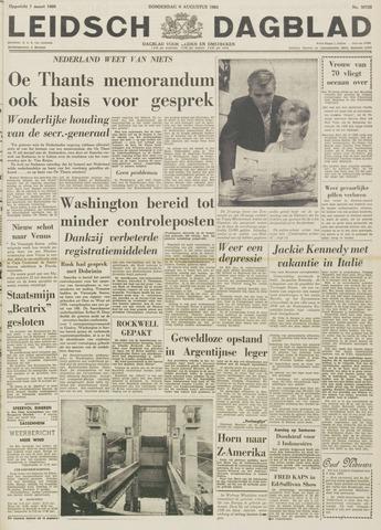 Leidsch Dagblad 1962-08-09