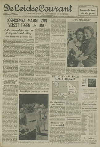 Leidse Courant 1960-08-23