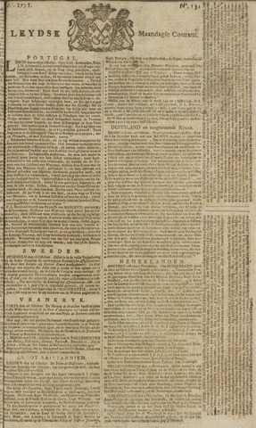 Leydse Courant 1771-11-04