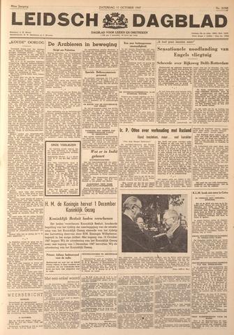 Leidsch Dagblad 1947-10-11