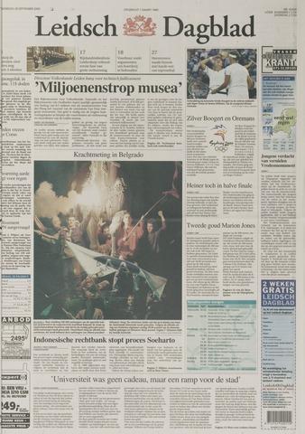 Leidsch Dagblad 2000-09-28