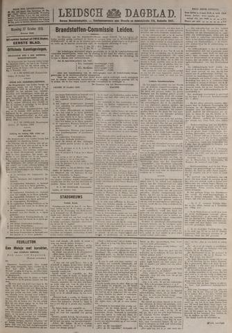 Leidsch Dagblad 1919-10-27