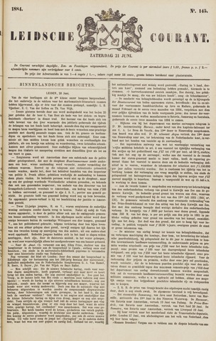 Leydse Courant 1884-06-21