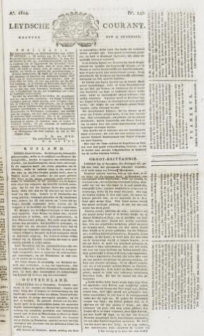 Leydse Courant 1824-11-22