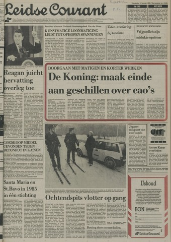 Leidse Courant 1985-01-10