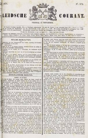 Leydse Courant 1871-11-17