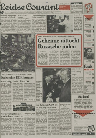 Leidse Courant 1989-11-04