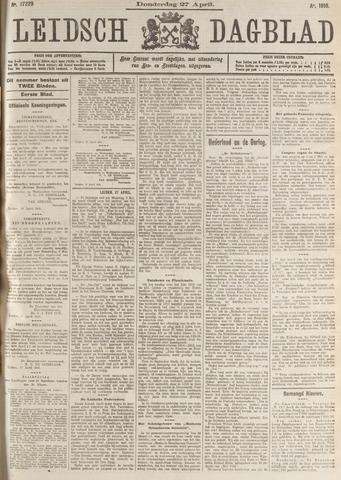 Leidsch Dagblad 1916-04-27
