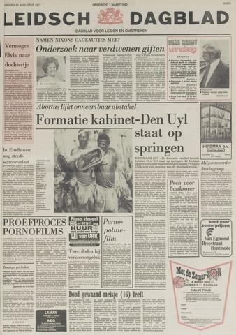 Leidsch Dagblad 1977-08-23