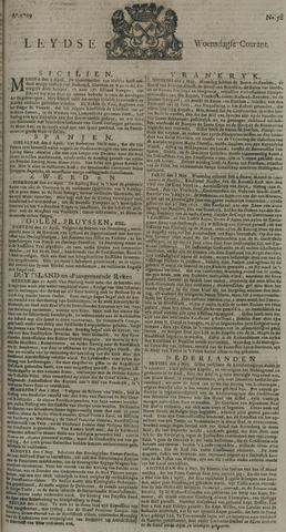 Leydse Courant 1729-05-11