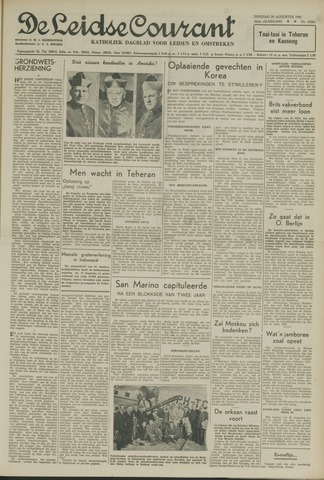 Leidse Courant 1951-08-21