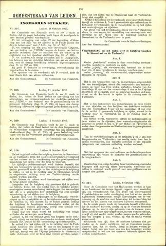 Handelingen van de Raad 1910-10-11
