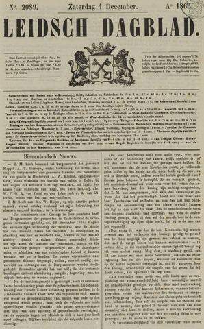 Leidsch Dagblad 1866-12-01