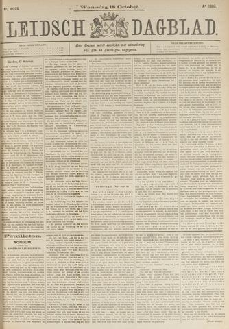 Leidsch Dagblad 1893-10-18